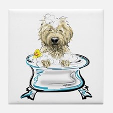 Rub-a-Dub Doodle Tile Coaster