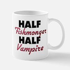 Half Fishmonger Half Vampire Mugs