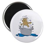 Cat Bath II Magnet