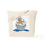 Cat Bath II Tote Bag