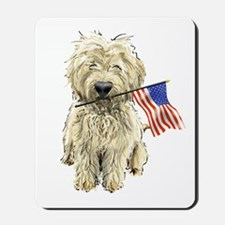 4th of July Doodle Mousepad