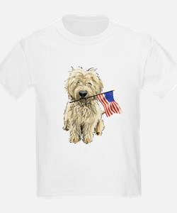 4th of July Doodle Kids T-Shirt