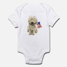 4th of July Doodle Infant Bodysuit