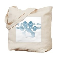 Yorkshire Terrier Grandchildren Tote Bag