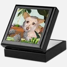 Terrier Chihuahua Mix Keepsake Box