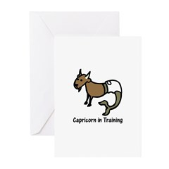 Capricorn in Training (Greeting Cards - Pk of 10)