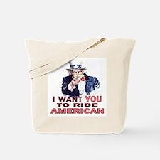 Ride American Tote Bag