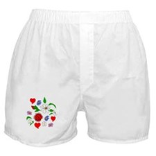 HEARTS AND FLOWERS Boxer Shorts