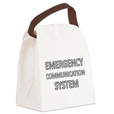 Emergency Communication System - White Canvas Lunc