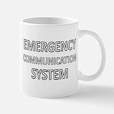 Emergency Communication System - White Mug