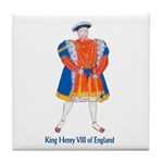 King Henry VIII Tile Coaster