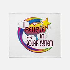 I Believe In The Solar System Cute Believer Desig