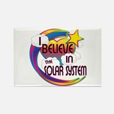 I Believe In The Solar System Cute Believer Desig