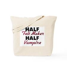 Half Felt Maker Half Vampire Tote Bag