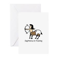 Sagittarius in Training (Greeting Cards-Pk of 10)