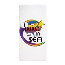 I Believe In The Sea Cute Believer Design Beach To