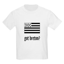 got breton? Kids T-Shirt