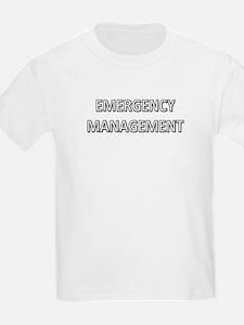 Emergency Management - White T-Shirt