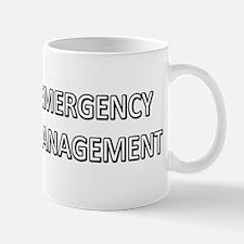 Emergency Management - White Mug