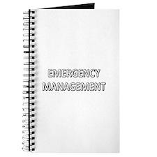 Emergency Management - White Journal