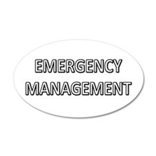 Emergency Management - White Wall Decal