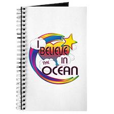 I Believe In The Ocean Cute Believer Design Journa