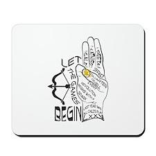 Three Finger Salute Mousepad