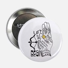 "Three Finger Salute 2.25"" Button"