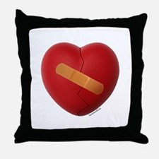 You Healed My Heart Throw Pillow