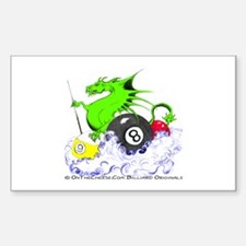 Pool Dragon Billiards Decal