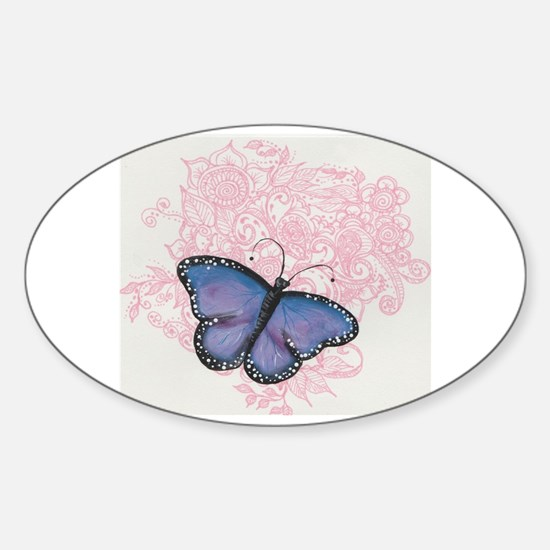 Cute Eb awareness Sticker (Oval)