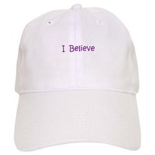 Purple I Believe Baseball Cap