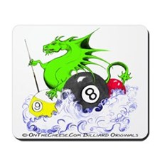 Pool Dragon Mousepad