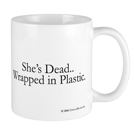 Wrapped in Plastic Mug