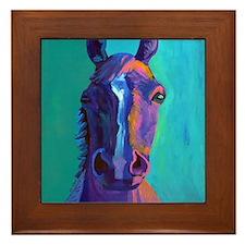 Crazy Horse Framed Tile