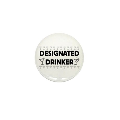 Designated Drinker Mini Button (10 pack)