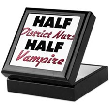 Half District Nurse Half Vampire Keepsake Box
