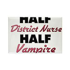 Half District Nurse Half Vampire Magnets