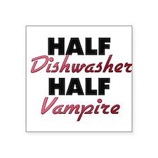 Half Dishwasher Half Vampire Sticker