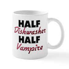 Half Dishwasher Half Vampire Mugs