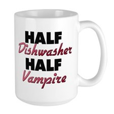 Half Dishwasher Half Vampire Mugs