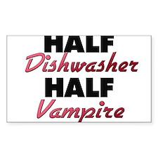 Half Dishwasher Half Vampire Decal