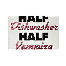 Half Dishwasher Half Vampire Magnets