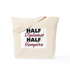 Half Diplomat Half Vampire Tote Bag