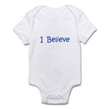 Blue I Believe Infant Bodysuit