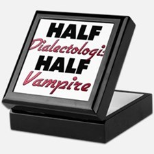 Half Dialectologist Half Vampire Keepsake Box