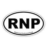 Redwood Stickers