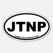 Joshua Tree National Park Oval Decal