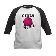 Girls Rule Baseball Jersey