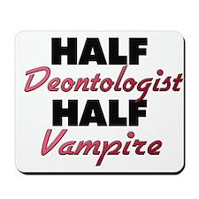 Half Deontologist Half Vampire Mousepad